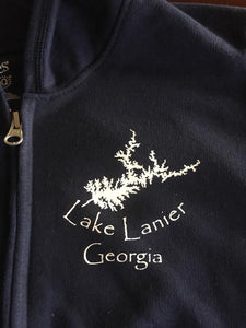 Lake Lanier Georgia MAP