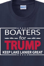"Load image into Gallery viewer, Boaters For TRUMP ""Keep Lake Lanier Great"""
