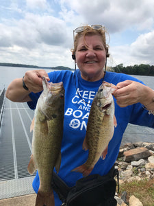 KEEP CALM FISH ON!  Lake Lanier