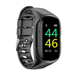 (40% OFF only Today)  Smart Watch with Bluetooth Earphone