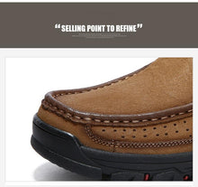 Load image into Gallery viewer, SALE 50% OFF - Men Comfortable First Layer Cowhide Leather Shoes