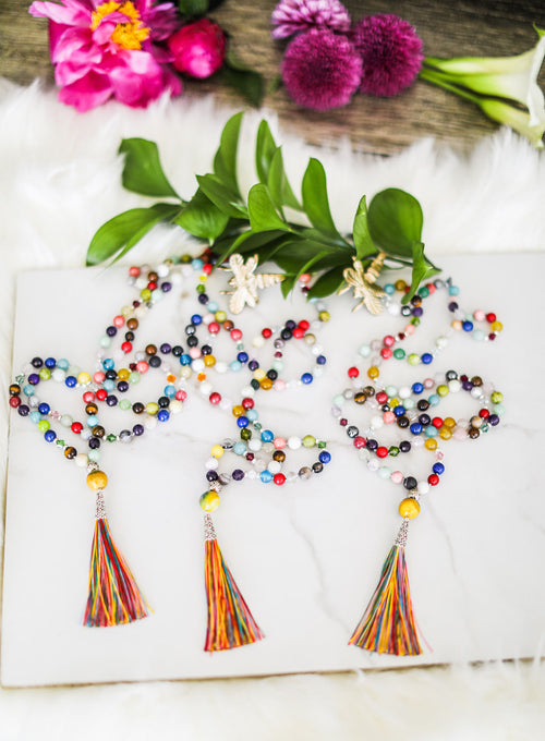 I Release Everything- Multi Colored Tassel