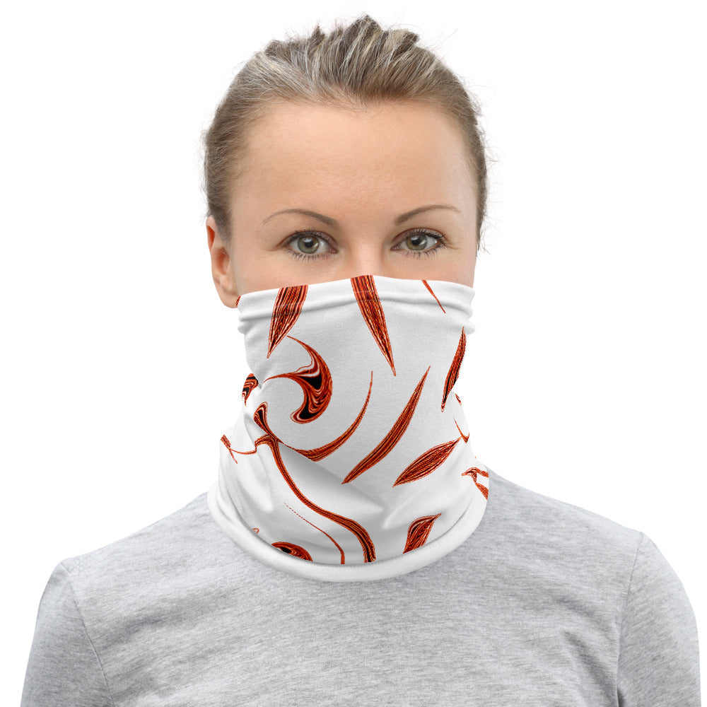 Red Leaves Neck Gaiter - Essential Neck Gaiters