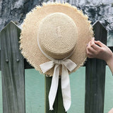 Luna Bow Knot Straw Hat