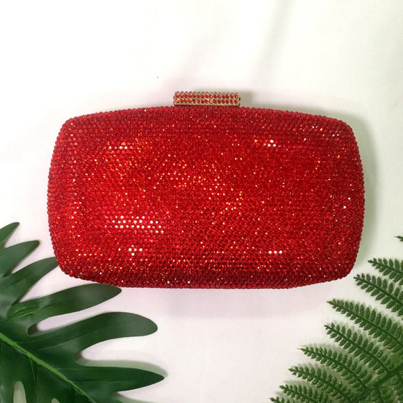 Luna Crystal Clutch