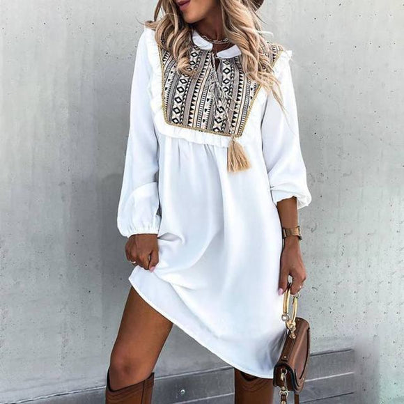 Luna Bohemian Casual Dress