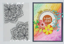Load image into Gallery viewer, Card Decor Flower Stamps
