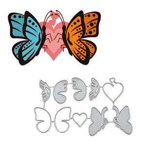Butterfly Fly Around Heart Dies