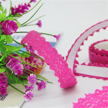 Load image into Gallery viewer, (8 colors) DIY Lace Decorative Stickers 15mm