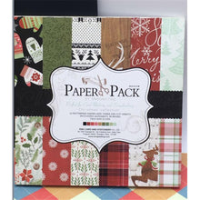 Load image into Gallery viewer, 12-Inch Colourful Creation Christmas Series Paper (24PCS)