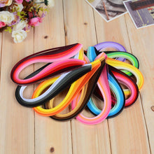 Load image into Gallery viewer, (9 Types) Mixed-Color Decoration Pressure Relief Gift DIY Quilling/Origami Craft Paper<100PCS/5mm>