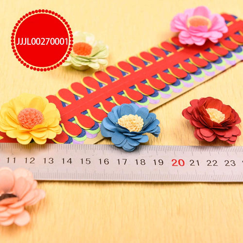 (8 Types) Flower Quilling Paper Strips Colorful Origami DIY Paper Hand Craft DIY<10 PCS/1Bag>