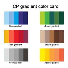 Load image into Gallery viewer, (12 Types)5 Gradient Rainbow Colors Inkpad