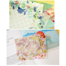 Load image into Gallery viewer, (4 Types) 6 Inch Gold Metallic Scrapbooking Translucent Papers<10 PCS> 1