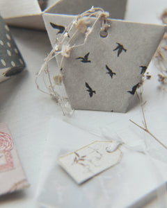 Birds Background Stamps