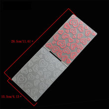 Load image into Gallery viewer, 1PCS Plastic Heart  Embossing Folder