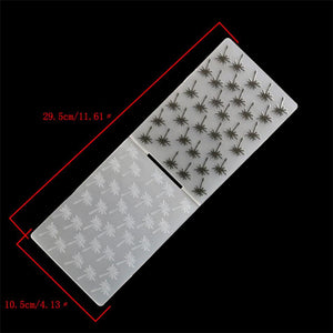 1PCS Plastic Embossing Folder Plant