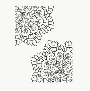 Eastshape United States Card Decor Flower Stamps