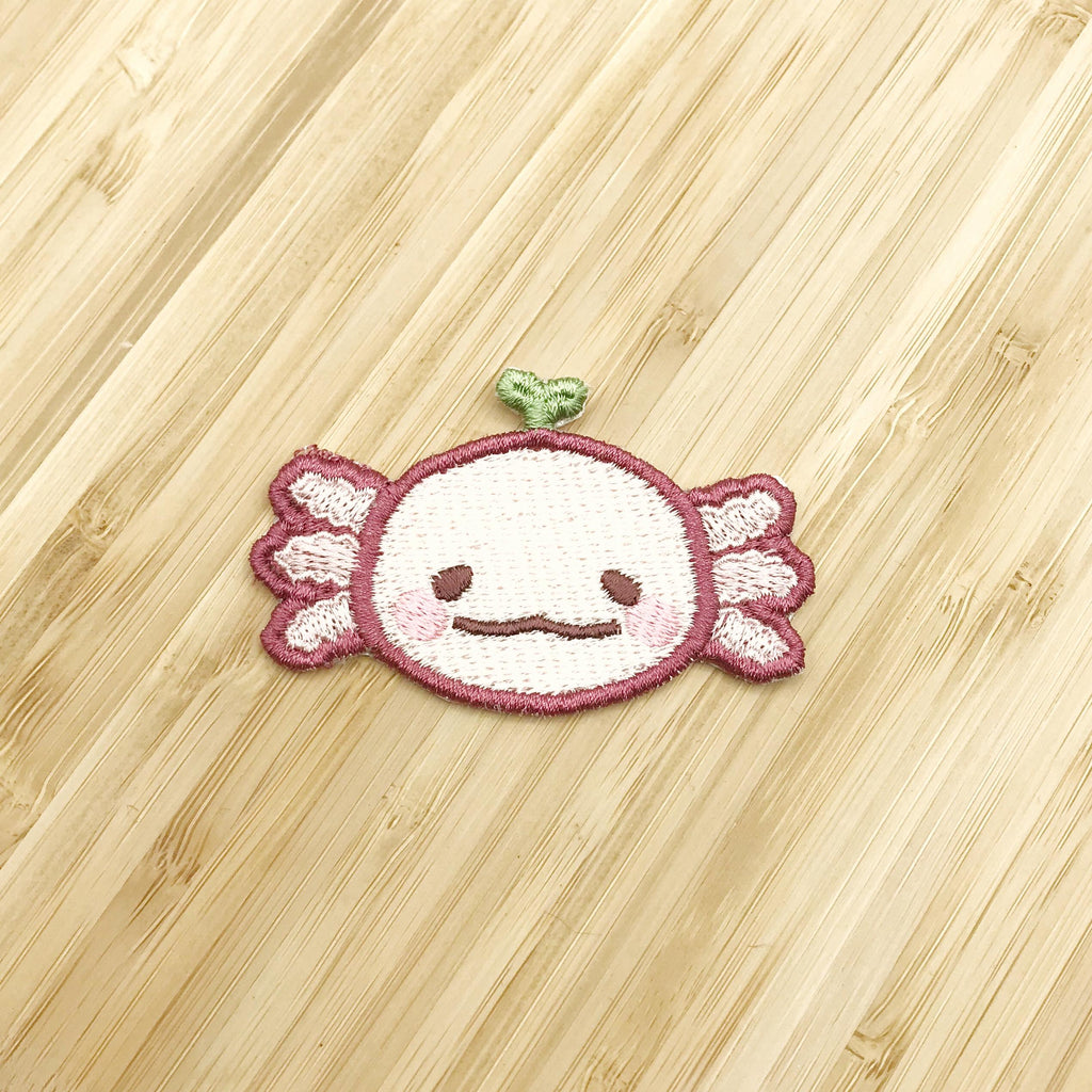 Axolotl Seedling patch Pink