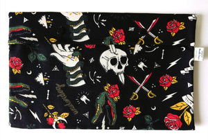 Pochette 'Swimming Pal' - tatoo -