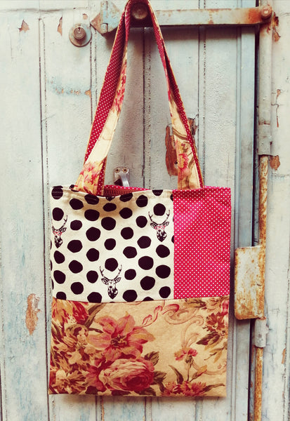 Sac Mouche Deluxe - cerf & roses