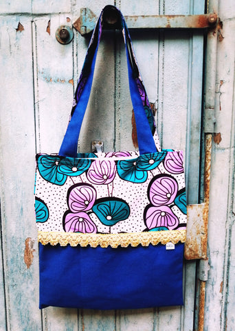 Sac Mouche Deluxe - blue wax