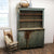 Antique Primitive Step Back Cupboard