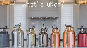 Enjoy fresh craft beer anytime, anywhere with the uKeg compact beer server. Enjoy a better class of beer at home or outside!