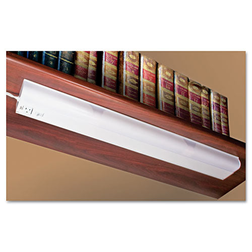 Under Cabinet Fluorescent Lamp, Steel, 36.25