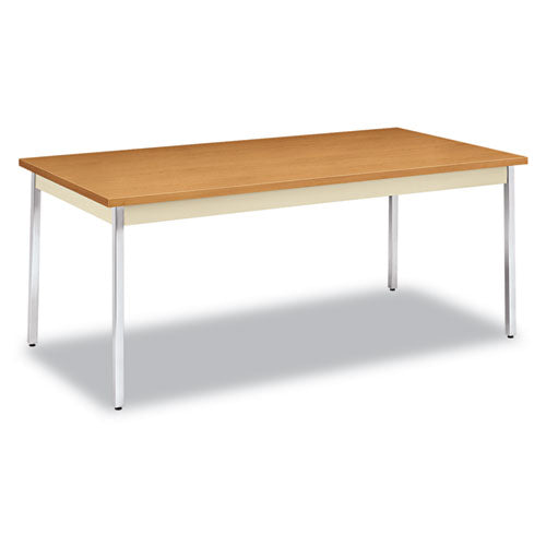 Utility Table, Rectangular, 72w x 36d x 29h, Harvest/Putty