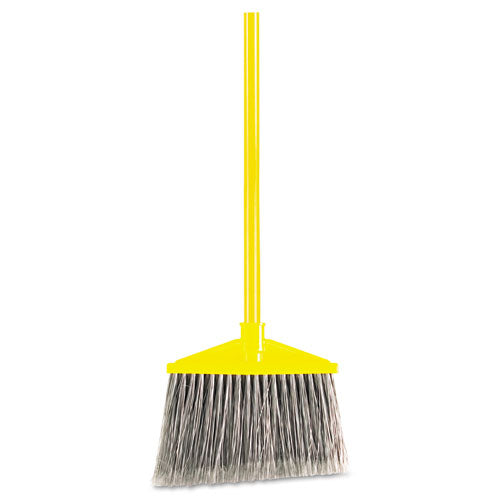 Angled Large Broom, Poly Bristles, 46 7/8