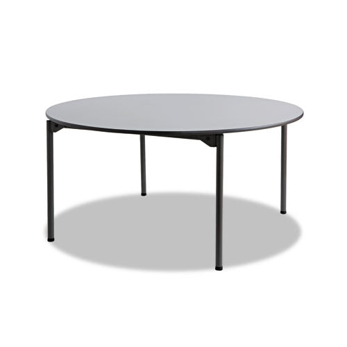 Maxx Legroom Round Folding Table, 60