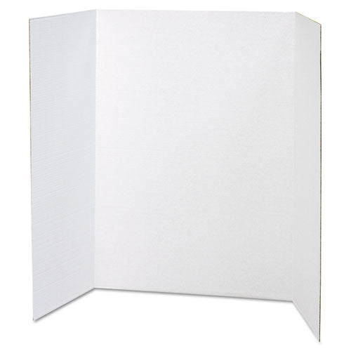 Spotlight Presentation Board, 48 x 36, White Front/Natural Kraft Back, 24/Carton