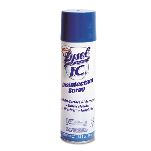Disinfectant Spray, 19oz Aerosol, 12/Carton