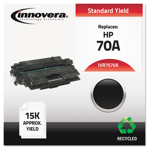 Remanufactured Q7570A (70A) Toner, 15000 Page-Yield, Black