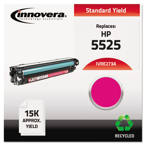 Remanufactured CE273A (650A) Toner, 15000 Page-Yield, Magenta