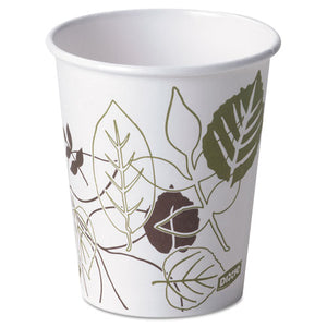 Pathways Paper Hot Cups, 10 oz, 1000/Carton