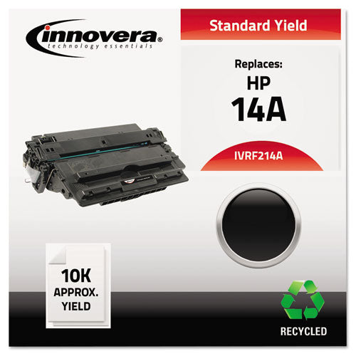 Remanufactured CF214A (14A) Toner, 10000 Page-Yield, Black