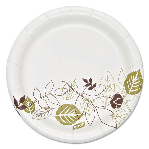 Pathways Soak Proof Shield Heavyweight Paper Plates, 5 7/8