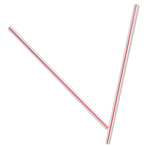 Unwrapped Hollow Stir-Straws, 5