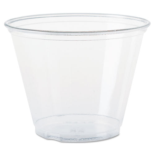 Ultra Clear Cups, Squat, 9 oz, PET, 50/Bag, 1000/Carton