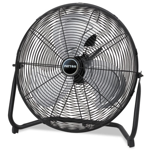High Velocity Fan, Three-Speed, Black, 24 1/2