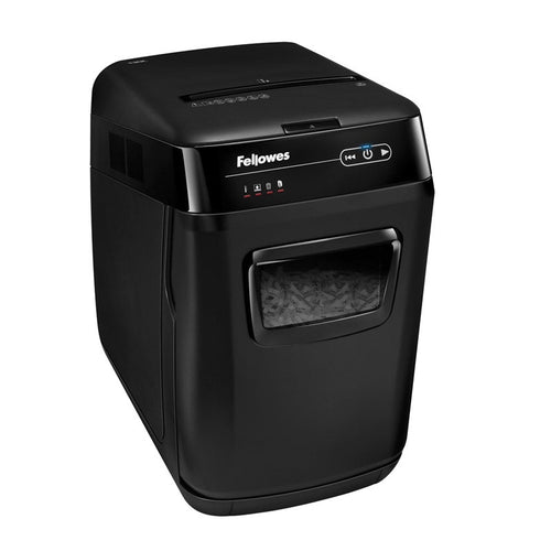 Fellowes AutoMax 130C Auto-Feed Cross Cut Paper Shredder