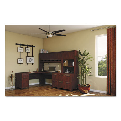 Enterprise Collection 72w x 72d L-Desk Surface Only, Mocha Cherry, Box 2 of 2