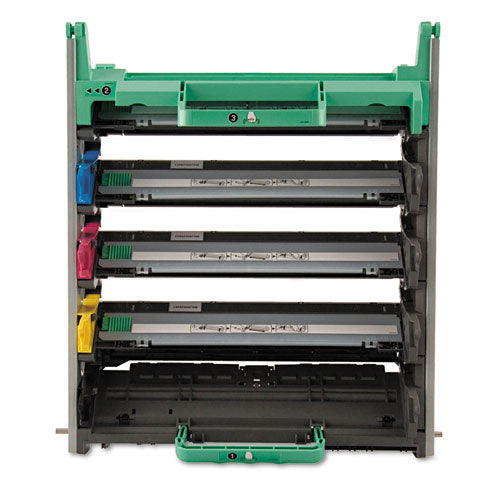 DR110CL Drum Unit, 17000 Page-Yield, Black/Cyan/Magenta/Yellow