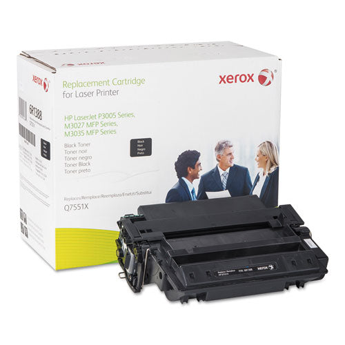 006R01388 Replacement High-Yield Toner for Q7551X (51X), Black