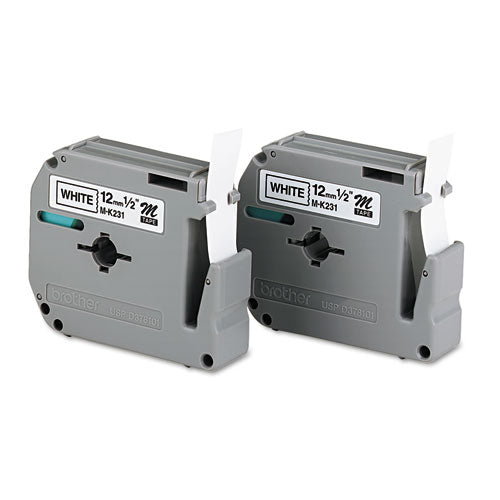 M Series Tape Cartridges for P-Touch Labelers, 0.47