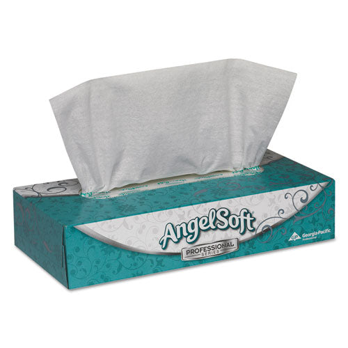 Premium Facial Tissues, 2-Ply, White, 100 Sheets/Flat Box