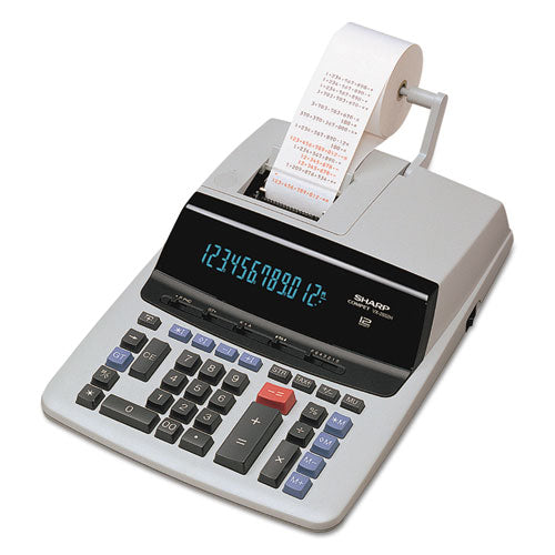 VX2652H Two-Color Printing Calculator, Black/Red Print, 4.8 Lines/Sec