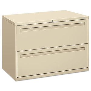 700 Series Two-Drawer Lateral File, 42w x 18d x 28h, Putty
